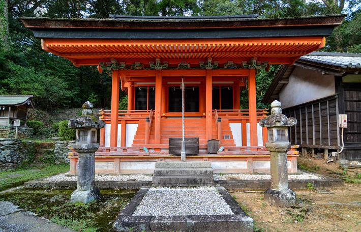 野上八幡宮 摂社平野今木神社本殿